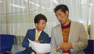 (8月20日放送分)シドニーオリンピック銀メダリストの篠原信一さんが番組初出演! 秋山さんに必勝法を聞いていました!