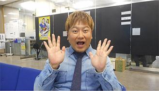 (9月24日放送分)気合入れて金髪に大変身した中川貴志さん! 連敗記録脱出目指して予想でも大変身!?